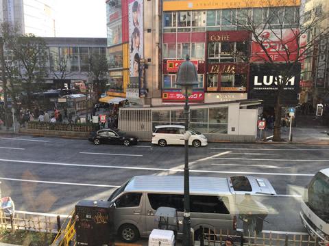 道玄坂 渋谷駅前